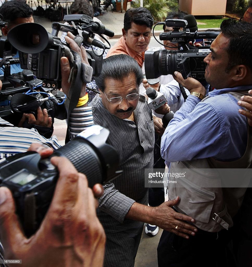 PC Chacko, Chairman of the JPC on 2G spectrum scam during the budget session at Parliament House on April 26, 2013 in New Delhi, India. The proceedings of Parliament have been disrupted since the start of the second part of Budget session on April 22 due to various issues including coal scam.