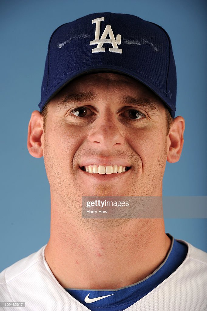 Chad Billingsley #58 of the Los Angeles Dodgers poses for a photo on photo day at Camelback Ranch on February 25, 2011 in Glendale, Arizona.