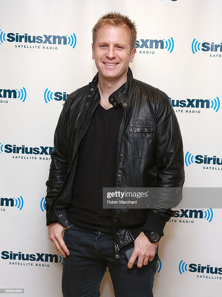 Chad Cisneros of Tritonal visits SiriusXM Studios on October 23, 2013 in New York City.