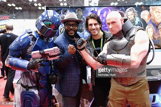 Chad Coleman attends the 2016 New York Comic Con at Jacob Javits Center on October 7 2016 in New York City