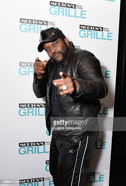 Chad Coleman attends the Morton's Grille Grand Opening Celebration on December 2 2014 in New York City