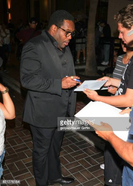 Chad Coleman is seen on July 22 2017 in San Diego California