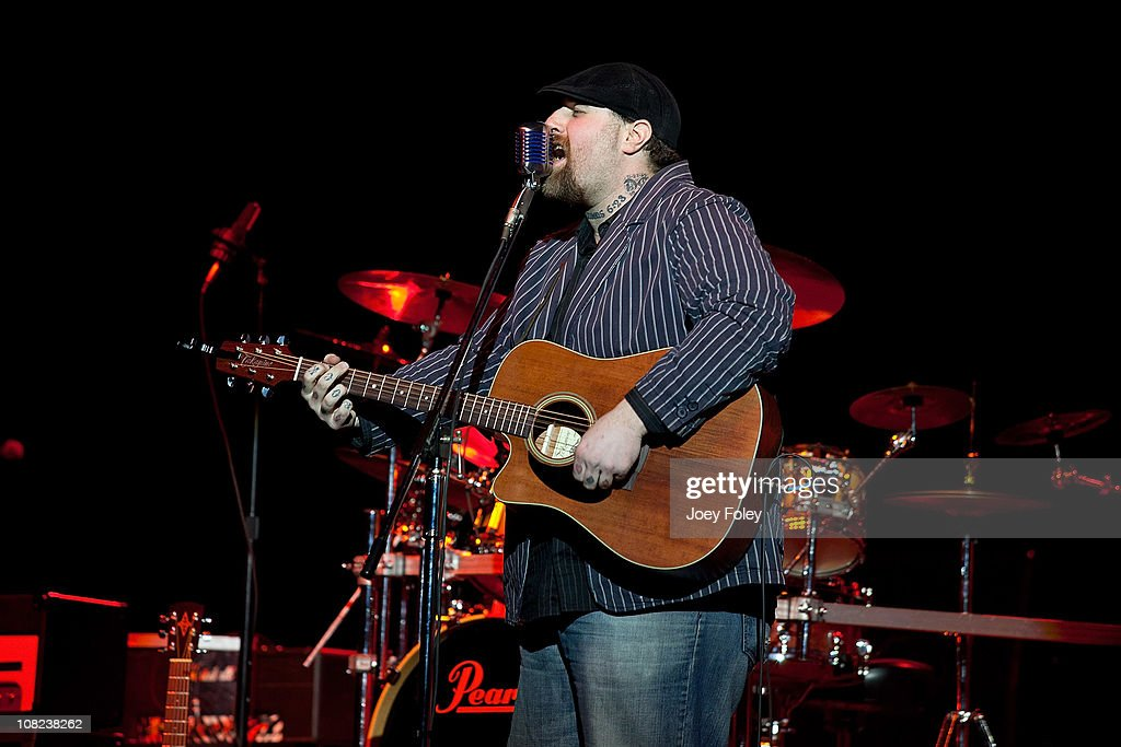Chad Fetty of East Coast Turnaround performs at the Steelers Playoff Party at Stage AE on January 14, 2011 in Pittsburgh, Pennsylvania.