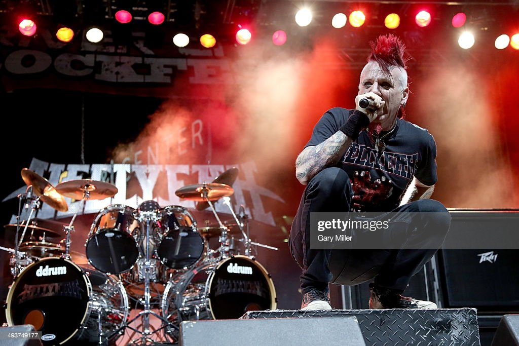 Chad Gray performs in concert with Hellyeah during the River City RockFest at the at&t Center on May 24, 2014 in San Antonio, Texas.