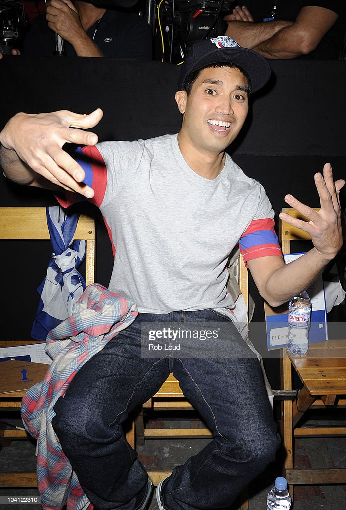 <a gi-track='captionPersonalityLinkClicked' href=/galleries/search?phrase=Chad+Hugo&family=editorial&specificpeople=214719 ng-click='$event.stopPropagation()'>Chad Hugo</a> attends the G-Star Spring 2011 fashion show during Mercedes-Benz Fashion Week at Pier 94 on September 14, 2010 in New York City.