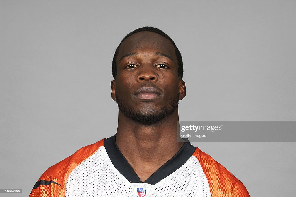 Chad Johnson of the Cincinnati Bengals poses for his 2006 NFL headshot at photo day in Cincinnati, Ohio.