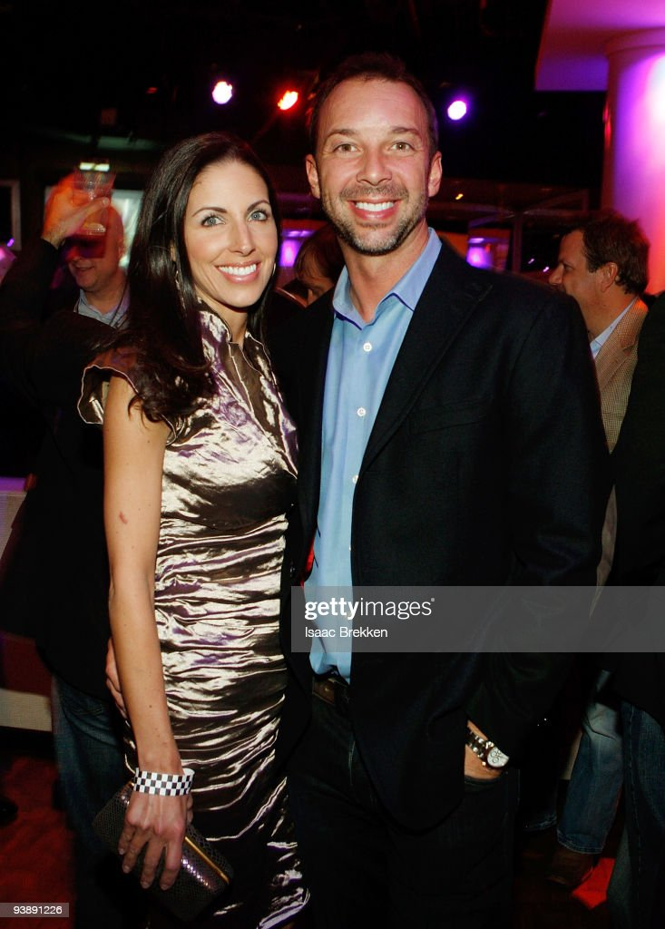 <a gi-track='captionPersonalityLinkClicked' href=/galleries/search?phrase=Chad+Knaus&family=editorial&specificpeople=564401 ng-click='$event.stopPropagation()'>Chad Knaus</a> (R) and his girlfriend Lisa Rockelmann attend Sports Illustrated's Club SI NASCAR at PURE Nightclub at Caesars Palace on December 3, 2009 in Las Vegas, Nevada.