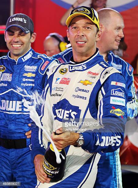 Chad knaus stock photos and pictures getty images for Johnson motor company of south carolina