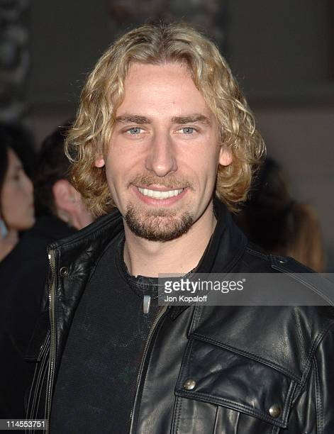 Chad Kroeger of Nickelback during 2006 American Music Awards Arrivals at Shrine Auditorium in Los Angeles California United States