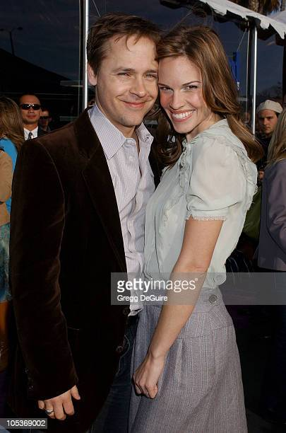 Chad Lowe and Hilary Swank during The 19th Annual IFP Independent Spirit Awards Audience and Backstage at Santa Monica Pier in Santa Monica...