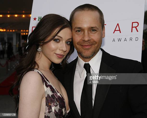 Chad Lowe and Michelle Trachtenberg pose prior to Saturday evening's 2007 Filmmakers' Tribute Dinner at the Longboat Key Club in Longboat Key Florida...
