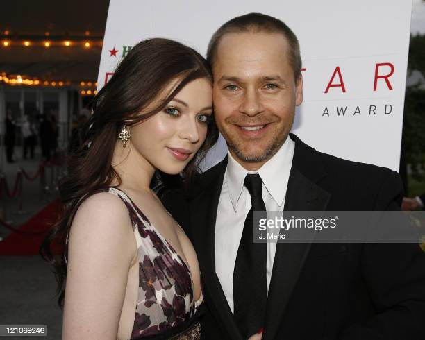 Chad Lowe and Michelle Trachtenberg pose prior to Saturday night's 2007 Filmmakers' Tribute Dinner at the Longboat Key Club in Longboat Key Florida...