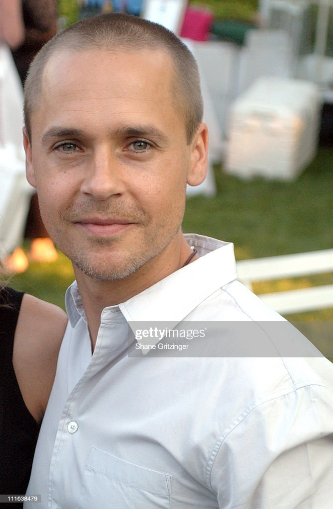 Chad Lowe during 'An Hour To Kill' Launch Party Hosted by Hilary Swank and Chad Lowe at Private Residence in Watermill, New York, United States.