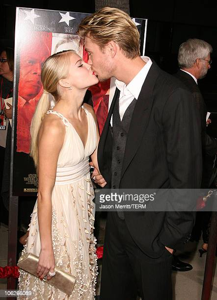 Chad Michael Murray and Kenzie Dalton during 'Home of The Brave' Los Angeles Premiere at Academy of Motion Pictures Arts Sciences in Beverly Hills...