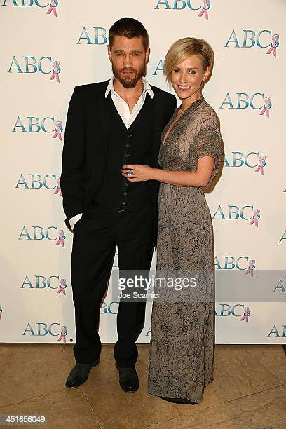 Chad Michael Murray and Nicky Whelan arrive to the Associates for Breast and Prostate Cancer Studies 24th Annual Talk of The Town Benefit Gala at The...