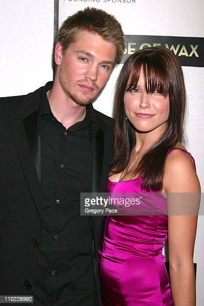 Chad Michael Murray and Sophia Bush during 4th Annual Tribeca Film Festival 'House of Wax' New York City Premiere Arrivals at Stuyvesant High School...