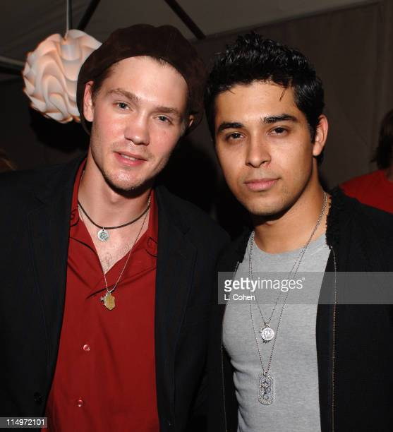 Chad Michael Murray and Wilmer Valderrama during Teen People Celebrates 2nd Annual Young Hollywood Issue Sponsored by EA Games and Baby Phat Inside...