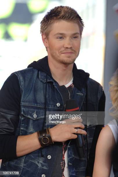Chad Michael Murray during The Cast of 'House of Wax' and Fat Joe Visit MTV's 'TRL' May 5 2005 at MTV Studios Times Square in New York City New York...