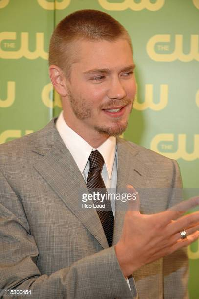 Chad Michael Murray during The CW Upfront Red Carpet at Madison Square Garden in New York New York United States