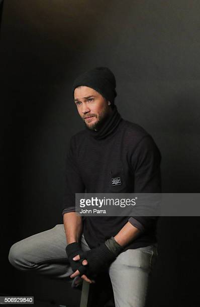Chad Michael Murray from the film 'Outlaws and Angels' posed for a portrait during The Hollywood Reporter 2016 Sundance Studio At Rock Reilly's Day 4...