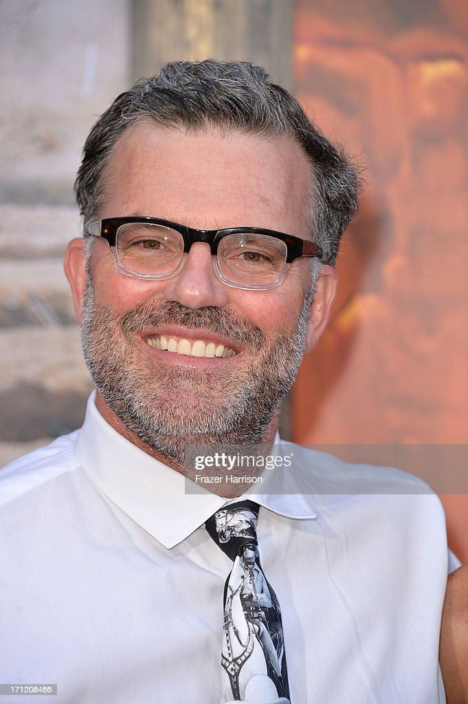 Chad Oman arrives at the premiere of Walt Disney Pictures' 'The Lone Ranger' at Disney California Adventure Park on June 22, 2013 in Anaheim, California.