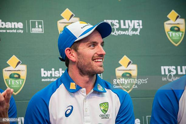 Chad Sayers at the Commonwealth Bank Test Series Launch at Queen Street Mall on December 11 2016 in Brisbane Australia