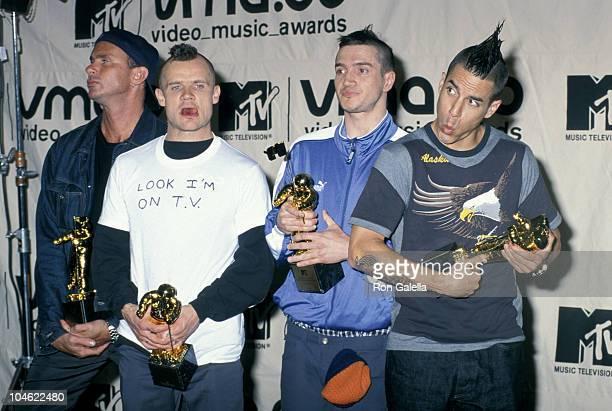Chad Smith Flea John Frusciante and Anthony Kiedis