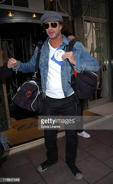 Chad Smith of Red Hot Chili Peppers during Red Hot Chili Peppers Sighting at Claridge's Hotel February 15 2007 at Claridge's Hotel in London Great...