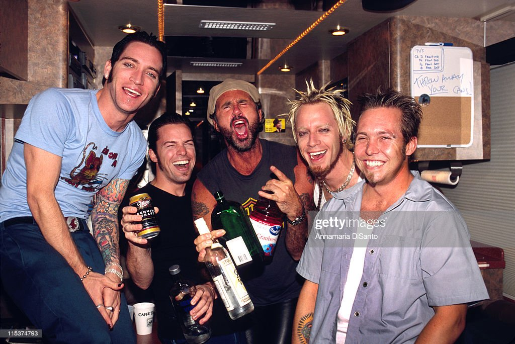 Chad Smith of The Red Hot Chili Peppers with Lit