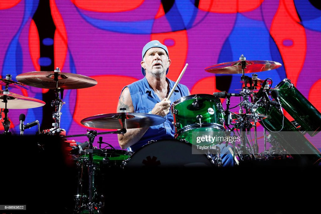 Chad Smith Red Hot Chili Peppers performs onstage during Day 3 at The Meadows Music & Arts Festival at Citi Field on September 17, 2017 in New York City.