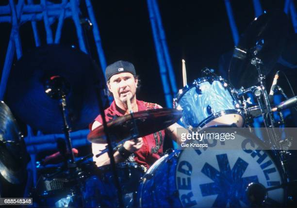 Chad Smith Red Hot Chili Peppers Sportpaleis Antwerpen Belgium