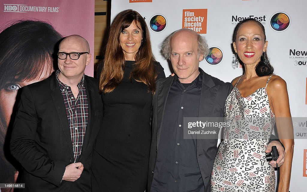 Chad Thompson Carol Alt Timothy GreenfieldSanders and Pat Cleveland attend 'About Face Supermodels Now And Then' screening during the 2012 NewFest at...