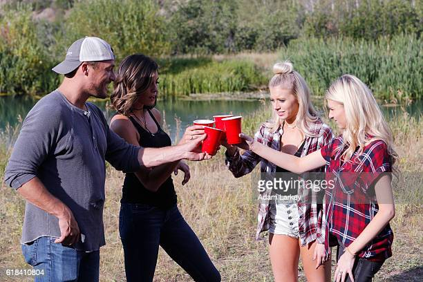 AFTER 'Chad to the Bone' Ben and Lauren head to the woods for a camping trip with some former Bachelor contestants but all hell breaks loose when...