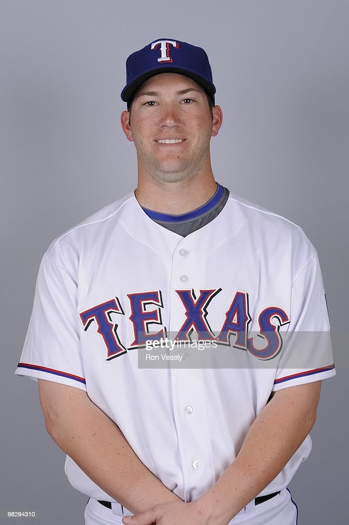 <a gi-track='captionPersonalityLinkClicked' href=/galleries/search?phrase=Chad+Tracy&family=editorial&specificpeople=213807 ng-click='$event.stopPropagation()'>Chad Tracy</a> of the Texas Rangers poses during Photo Day on Tuesday, March 2, 2010 at Surprise Stadium in Surprise, Arizona.