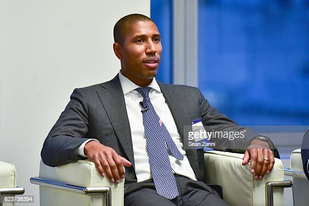Chad Tredway attends The Commercial Observer Financing Commercial Real Estate at 666 Fifth Avenue on November 15 2016 in New York City