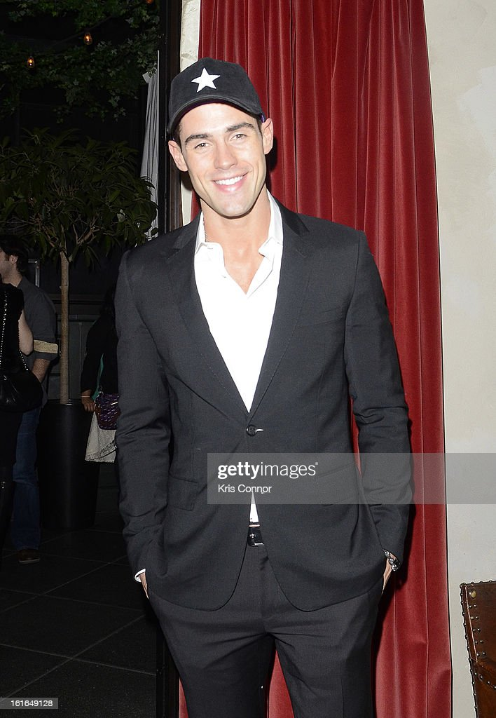 Chad White poses for a photo during the Gents Launch Party during Fall 2013 Mercedes-Benz Fashion Week at Gramercy Park Hotel on February 13, 2013 in New York City.