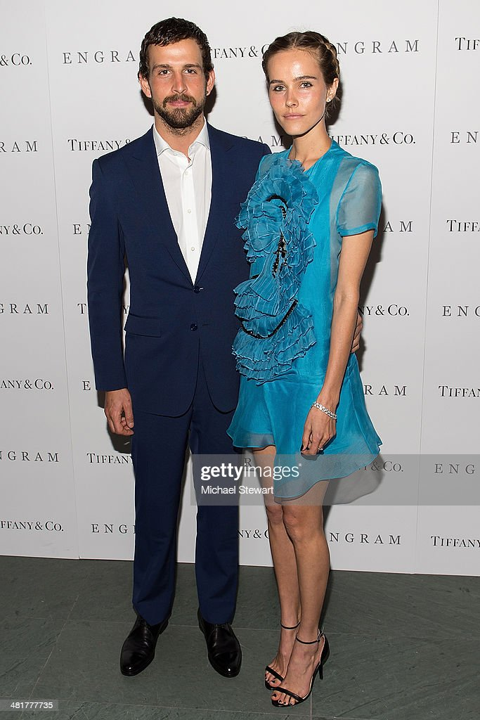 Chadd Konig (L) and actress <a gi-track='captionPersonalityLinkClicked' href=/galleries/search?phrase=Isabel+Lucas&family=editorial&specificpeople=242957 ng-click='$event.stopPropagation()'>Isabel Lucas</a> attend the 'Engram' screening at the Celeste Bartos Theater at the Museum of Modern Art on March 31, 2014 in New York City.