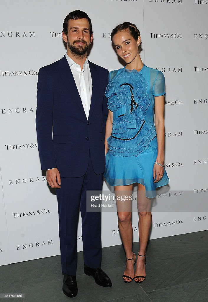 Chadd Konig(L) and <a gi-track='captionPersonalityLinkClicked' href=/galleries/search?phrase=Isabel+Lucas&family=editorial&specificpeople=242957 ng-click='$event.stopPropagation()'>Isabel Lucas</a> attends the 'ENGRAM' screening at Museum of Modern Art on March 31, 2014 in New York City.