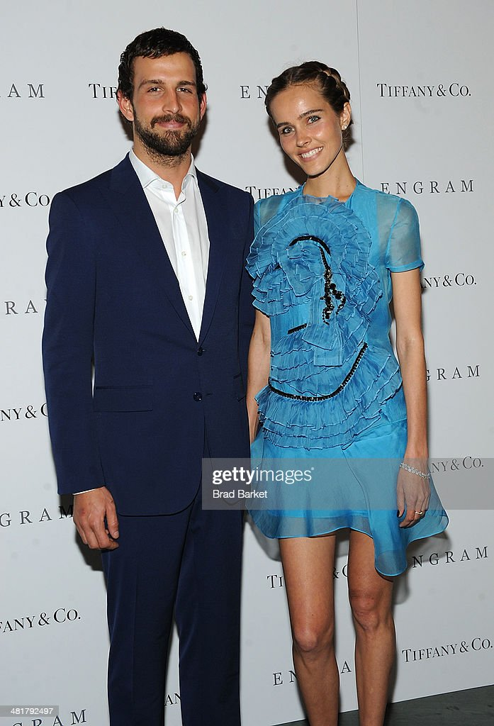 Chadd Konig(L) and Isabel Lucas attends the 'ENGRAM' screening at Museum of Modern Art on March 31, 2014 in New York City.