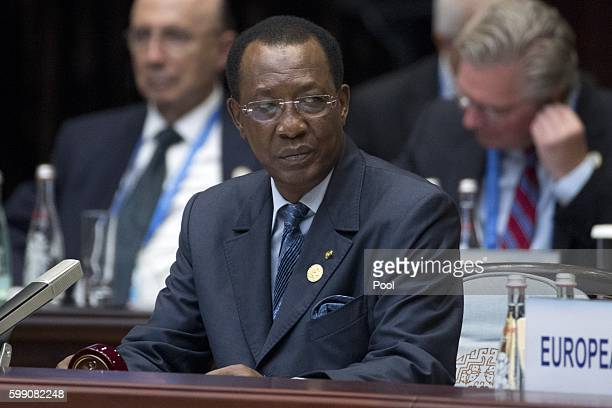 Chad's President Idriss Deby Itno attends the opening ceremony of the G20 Summit on September 4 2016 in Hangzhou China World leaders are gathering...