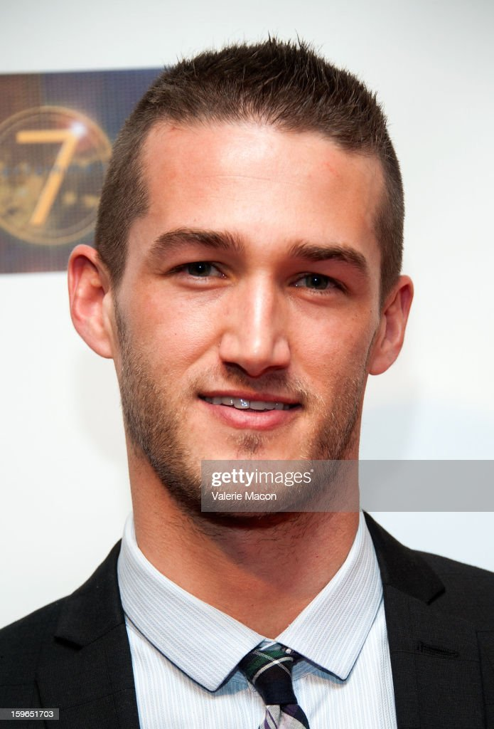 Chadwick Armstrong arrives at the Screening Of 'Not Another Celebrity Movie' at Pacific Design Center on January 17, 2013 in West Hollywood, California.