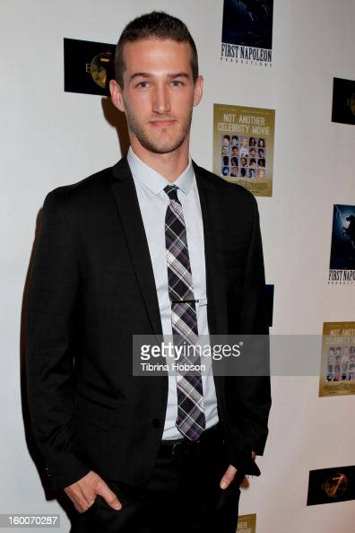 Chadwick Armstrong attends the 'Not Another Celebrity Movie' Los Angeles premiere at Pacific Design Center on January 17 2013 in West Hollywood...