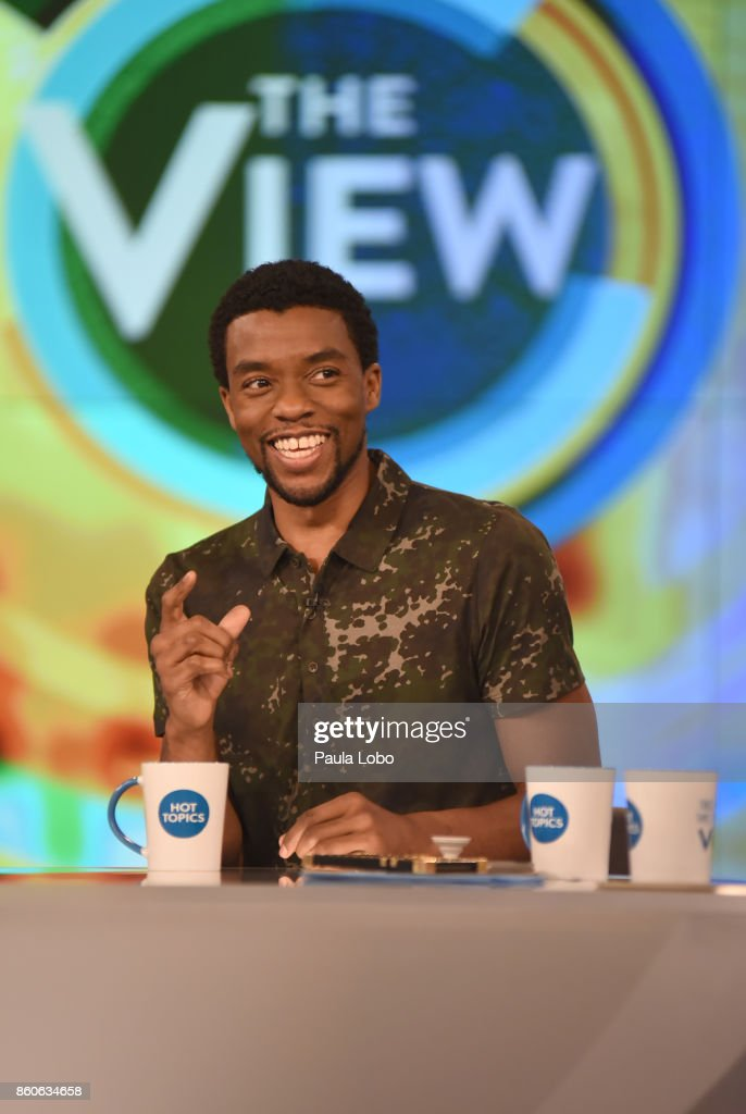 THE VIEW - Chadwick Boseman and Charley Pride are guests on 'The View,' for Thursday, October 12, 2017. 'The View' airs Monday-Friday (11:00 am-12:00 pm, ET) on the ABC Television Network. BOSEMAN
