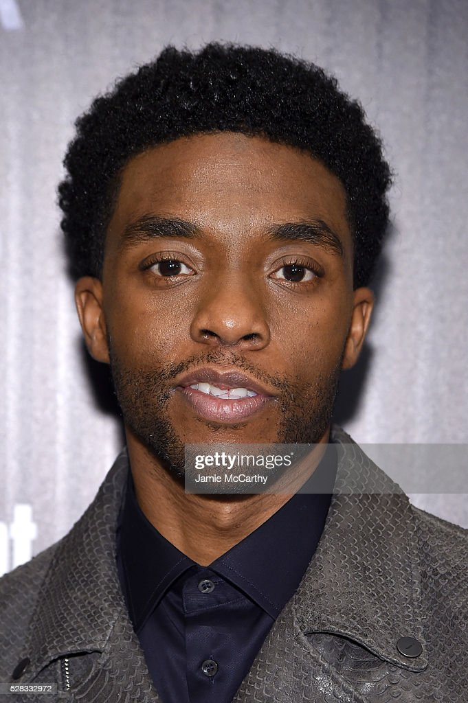 Chadwick Boseman attends the screening Of Marvel's 'Captain America Civil War' hosted by The Cinema Society with Audi FIJI at Henry R Luce Auditorium...