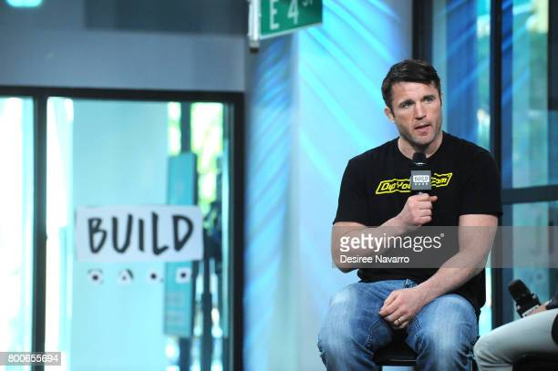 Chael Sonnen attends Build to discuss Bellator MMA at Build Studio on June 20 2017 in New York City