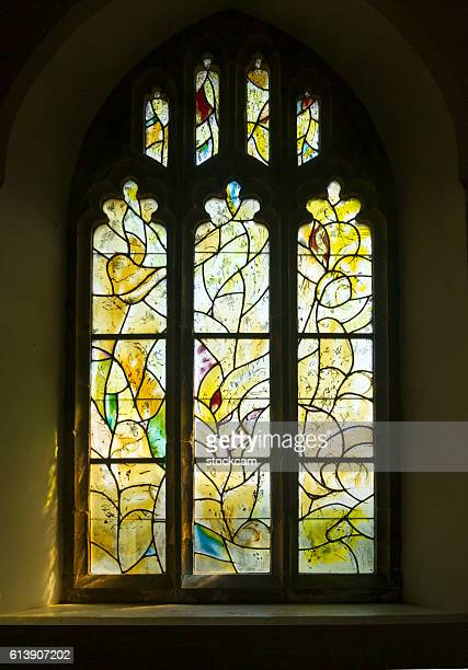 Chagall window in All Saints Church, Kent, UK