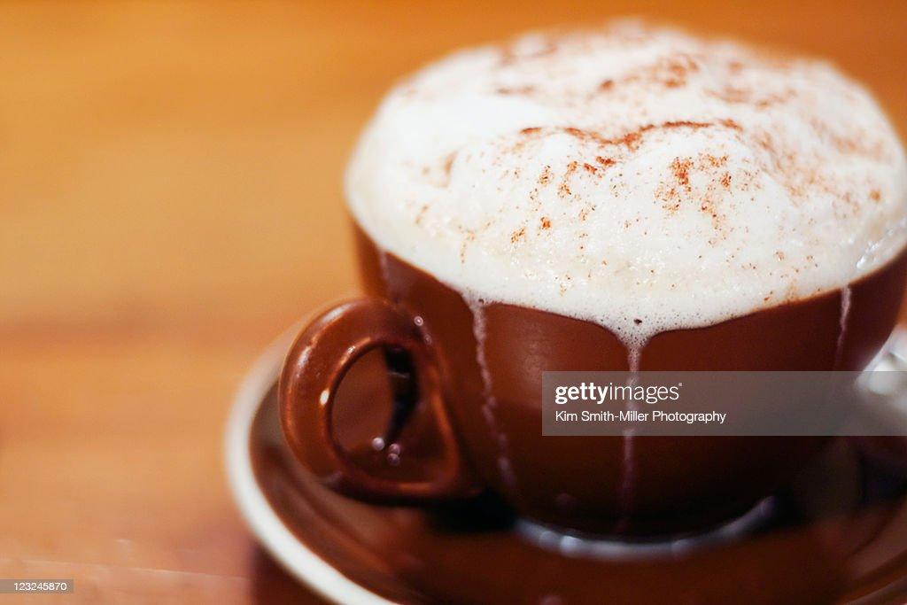 Chai tea latte : Stock Photo