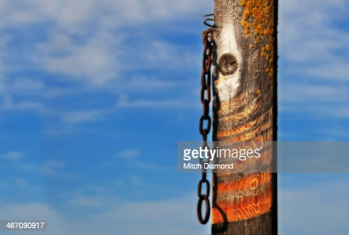 Chain and post