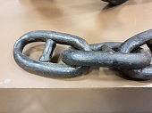The Chain black closeup. Chain ship close up