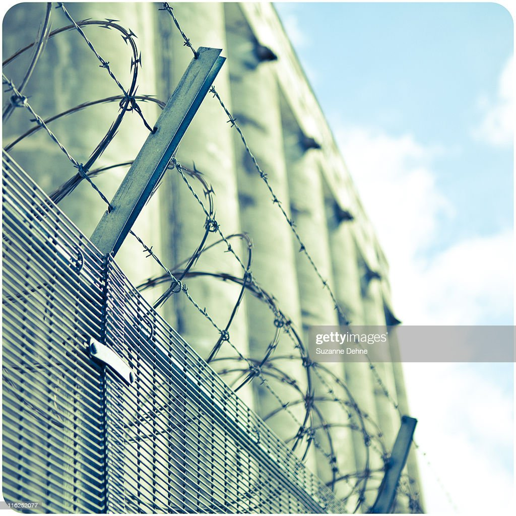 Chain link fence : Stock Photo